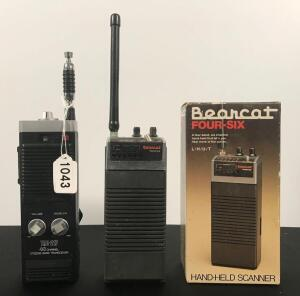 Bearcat Scanner and Portable CB