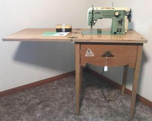 Vintage International Sewing Machine w/ Stand