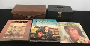 Selection of 8 Tracks & Vinyl Records