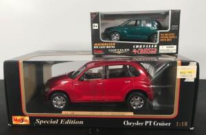 Lot of 2 Die Cast Collectible Cars