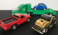 Flat of 7 Die Cast Collectible Cars - 4