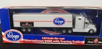 Lot of 2 Die Cast Collectible Tractor Trailers - 2