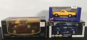 Lot of 3 Die Cast Collectible Cars