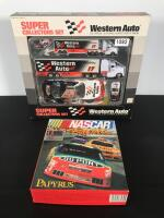 Western Auto 1992 Collectors Set & CD NASCAR Race Game