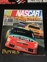 Western Auto 1992 Collectors Set & CD NASCAR Race Game - 2