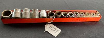 Mac 3/8 Drive 6 Point Metric Socket Set