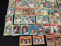 Lot of 1972 Topps Baseball Cards - 5