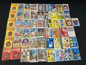 Lot of Assorted Baseball and Football cards