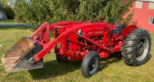 1955 International Model 300 Utility Tractor with Loader
