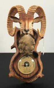 Vintage Ram Wall Mount Thermometer