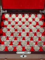 PCS Stamps & Coins 50 Years of U.S. Nickels Collection - 2