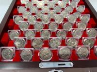 PCS Stamps & Coins 50 Years of U.S. Nickels Collection - 3