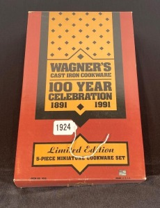 Wagner 100 Year Cast Iron Mini Collection