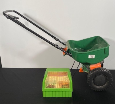 Scott's Broadcast Spreader and Garden Cards