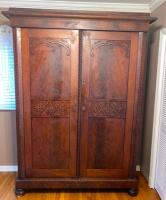 Large Antique Knock Down Wardrobe