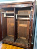 Large Antique Knock Down Wardrobe - 5