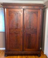Large Antique Knock Down Wardrobe - 9