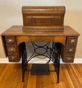 New Hope Treadle Sewing Machine