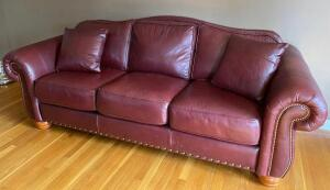 La Z Boy Leather Sofa