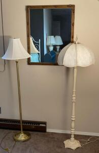 Mirror, Vintage & Modern Floor Lamps