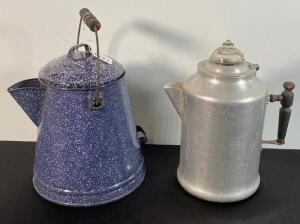 Granite & Aluminum Pitchers