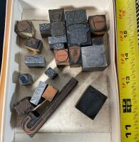 Lot of Assorted Typeset Stamps - 4