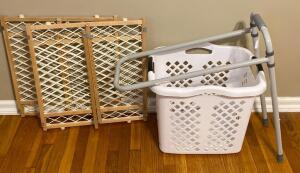 Baby Gates, Hamper, & Assist Bar