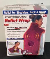 Heat & Massage Wrap, Muscle Therapy System, & Tens 3000 unit - 5