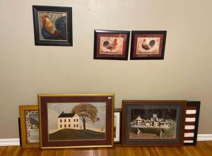 Various Americana Decorative Pictures