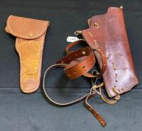 Pair of Leather Holsters