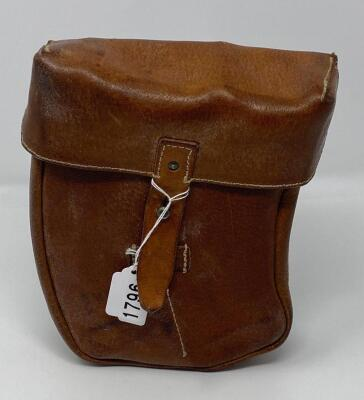 Leather Ammo Magazine Belt Pouch