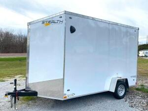 2020 Stealth 7' X 12' Enclosed Trailer