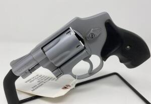 Smith & Wesson Hammerless Airweight 642 .38 Caliber Revolver