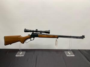 .22 Caliber Marlin Golden 39A Lever Action Rifle With Scope