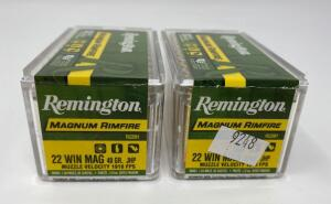 Remington .22 Win Mag 100 Rounds