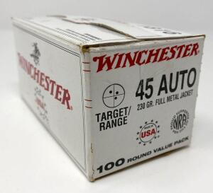 Winchester .45 Auto 100 Rounds