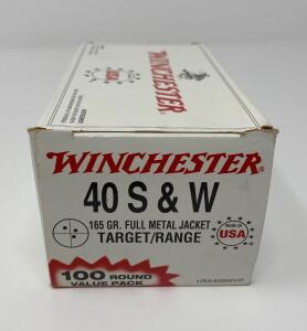 Winchester .40 S&W 100 Rounds
