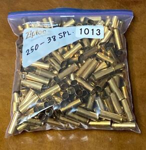 .38 Special Brass Casings Quantity 250