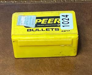 Spear Bullets 38 Caliber 158 Grain .357 Jacketed Soft Point