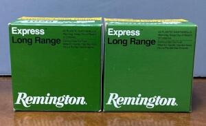 Two Boxes Remington Express Long Range 16 Gauge 2 3/4 Shotgun Shells