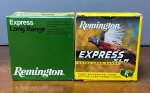 Two Boxes Remington Express 16 Gauge 2 3/4 Shotgun Shells
