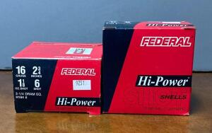 Federal High Power 16 Gauge 2 3/4 Shotgun Shells