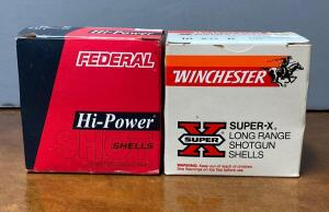 Winchester & Federal 16 Gauge 2 3/4 Shotgun Shells
