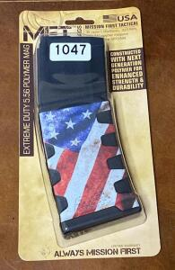 Mission First Tactical 30 Round 5.56X45 mm American Flag Magazine
