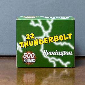 Remington 22 Thunderbolt 500 Rounds
