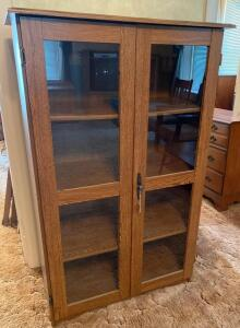 Modern Pressed Wood Bookcase