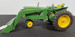Vintage John Deere Tractor with Loader