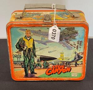 Vintage Steve Canyon lunchbox