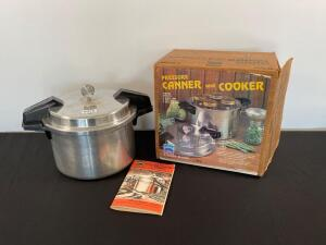 Mirror matic 8 quart pressure canner cooker