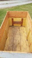 Three point wooden box for compact tractor - 5